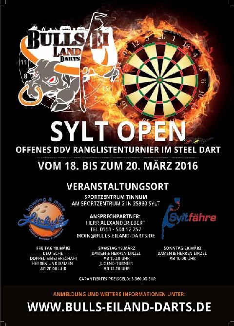 1. Sylt Open im Dart Sport