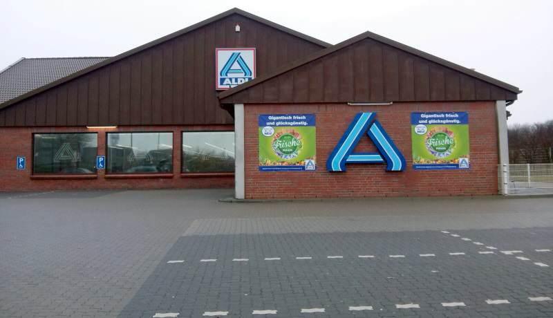 Sylter Aldi-Markt in Tinnum