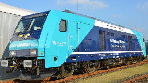 Neue Loks bringen Pendler und Urlauber nach Sylt