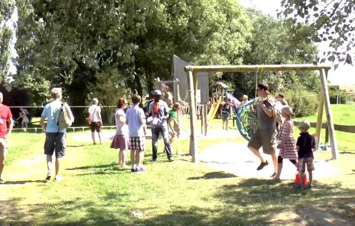 Großes Kinderfest in Morsum