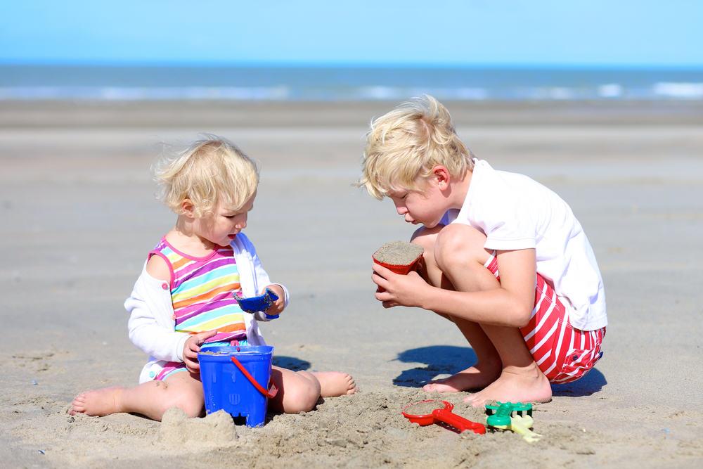 : Den Kindern gefällt es gut an der Nordsee. Für viele Deutsche ist sie ein attraktives Ziel