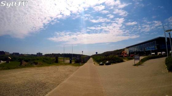 Mit dem Fahrrad durch Westerland