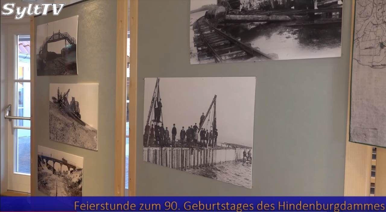 Seit 90 Jahren verbindet der Hindenburgdamm Sylt mit dem Festland
