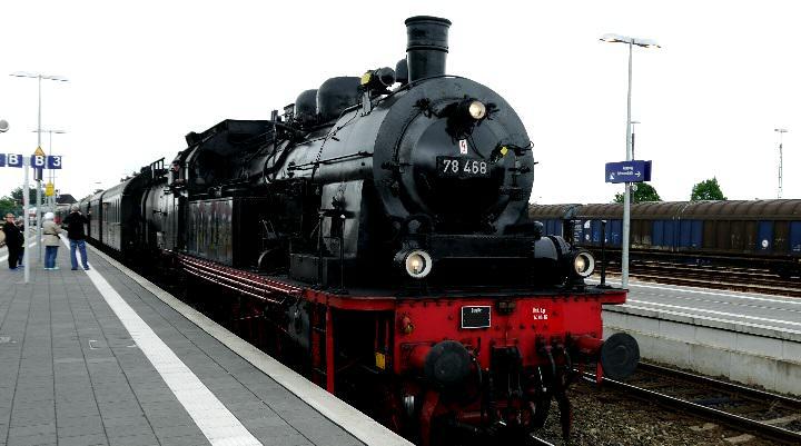 Mit der Dampflok nach Sylt, ein tolles Erlebnis
