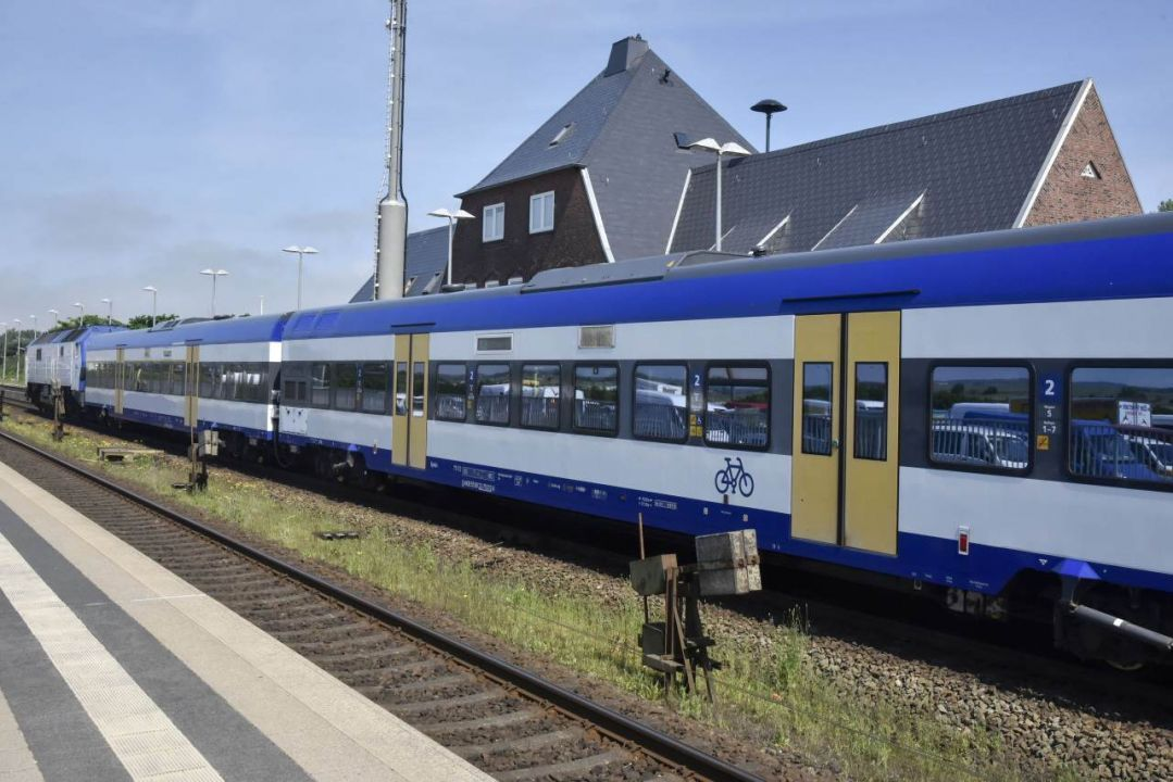 Die Marschbahn Hamburg - Westerland - Hamburg