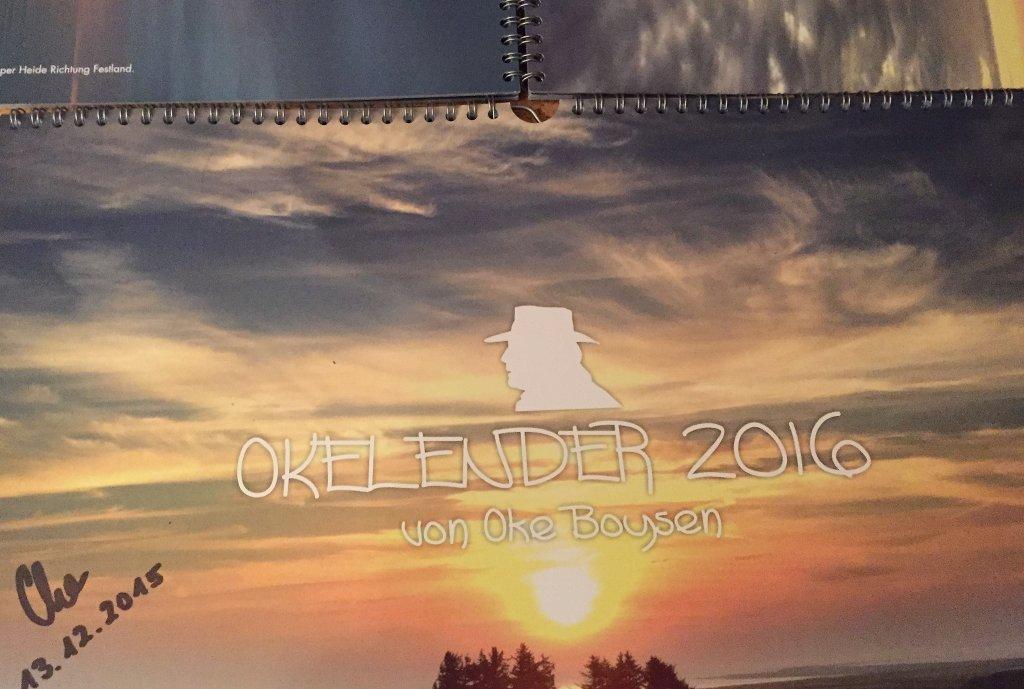 Der Okelender 2016