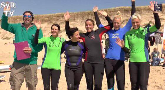 Stand Up Paddling Challenge Sylt