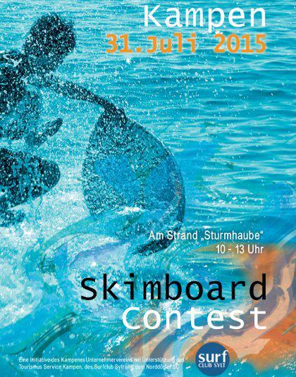 Skimboarden in Kampen auf Sylt