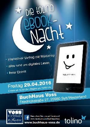 Buchhaus Nacht bei Voss