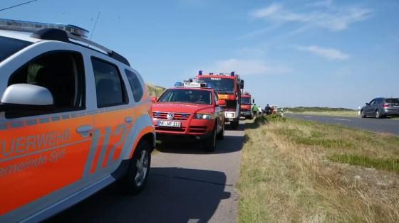 Feuerwehren Hörnum, Rantum, Westerland