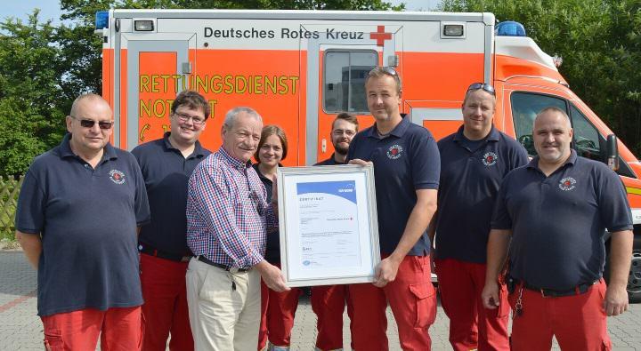 DRK Rettungsdienst Westerland/Sylt ausgezeichnet