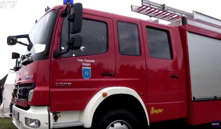 Feuerwehr Kampen feiert ihr Fest 2016