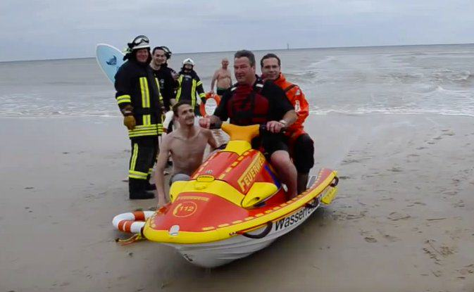 Jetski dürfen nur Rettungskräfte fahren