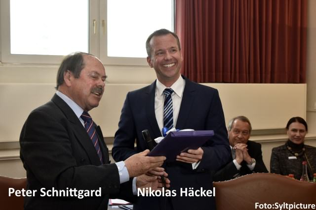 Peter Schnittgard und Nikolas Häckel