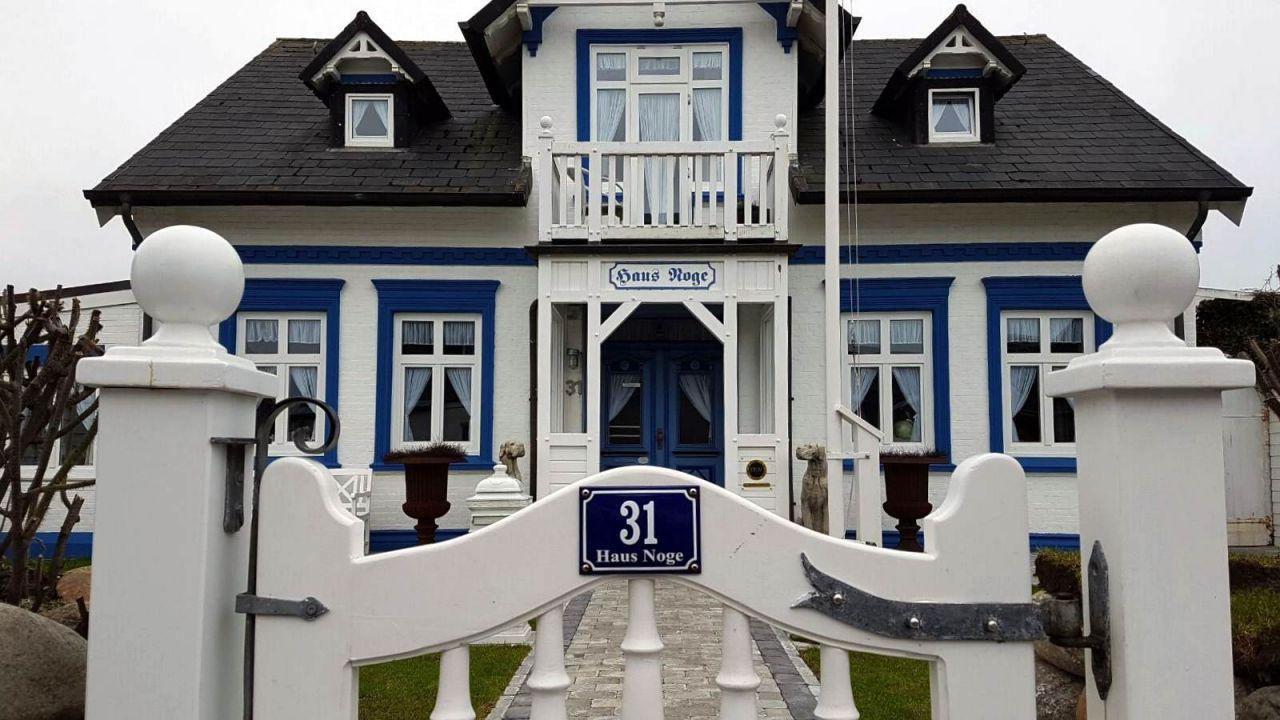 Haus Noge in Westerland auf Sylt ein besonderes Gästehaus