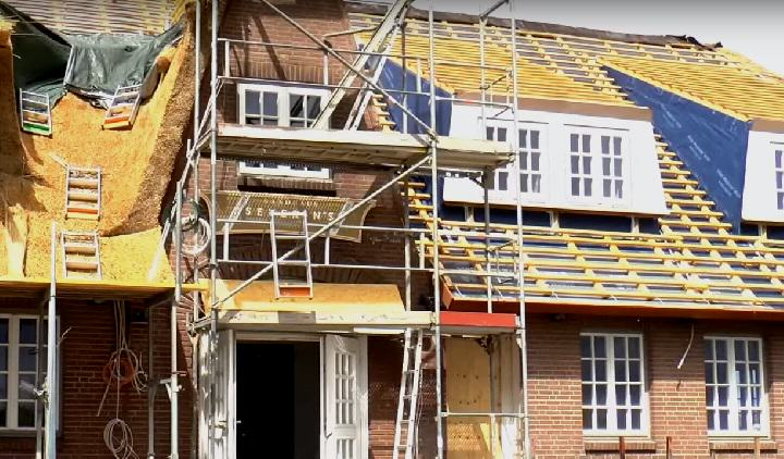 Die Baustelle des Landhaus Severin´s