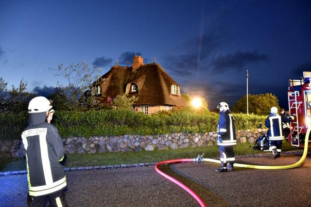 Die Feuerwehren Kampen und Wenningstedt verhinderten Schlimmeres