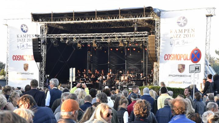 Die Bühne des Kampen Jazz Festival 2016