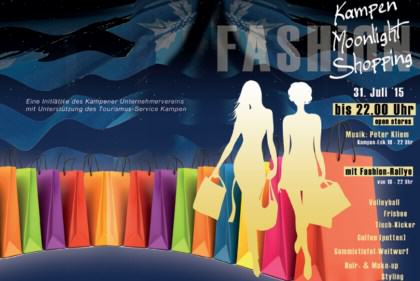 Moonlightshopping + Fashion Rallye in Kampen