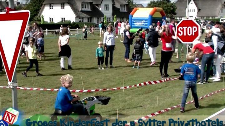 Bauerhof Kinderfest der Sylter Privathotels