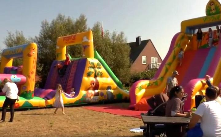Hüpfburgen für Kinder werden beim Tinnumer Straßenfest nicht fehlen