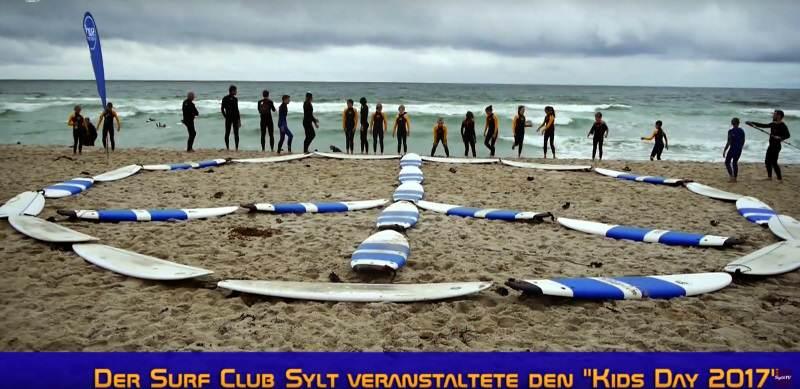 Wellenreiten für Kinder beim Surf Club Sylt