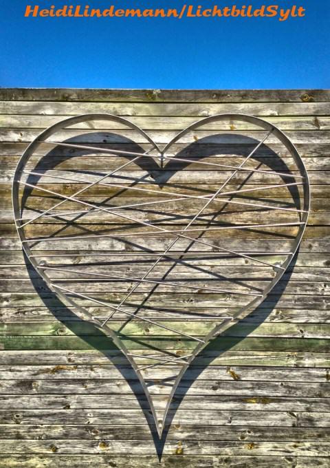 Liebesherz in List auf Sylt