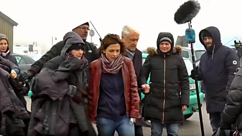 Dreharbeiten zum 7. Nord Nord Mord Sylt Krimi