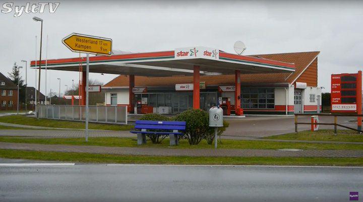Ist jetzt wieder geöffnet, die Tankstelle in List