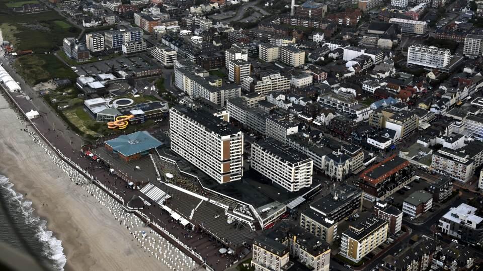 Der Brandenburger Strand und die Promenade