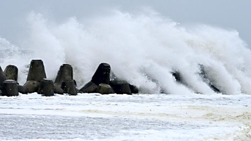 Sturm und Sturmflut auf Sylt