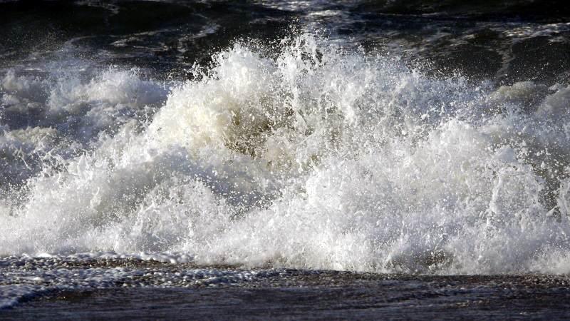 Sturmfluten an der Nordsee liefern faszinierende Aufnahmen