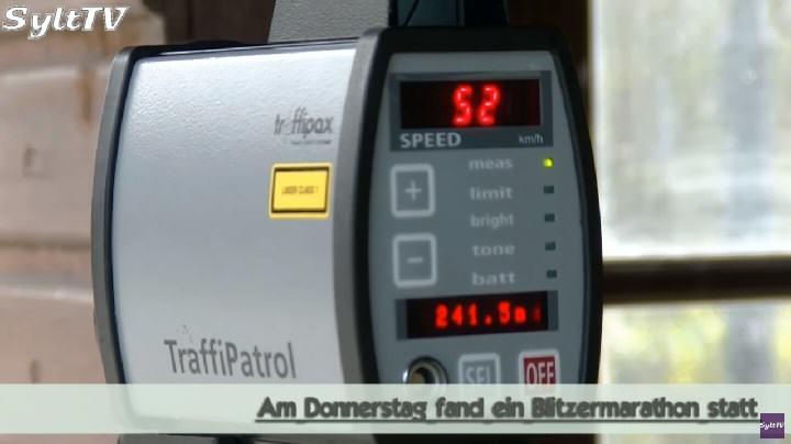 Geschwindigkeitsmessungen Polizei