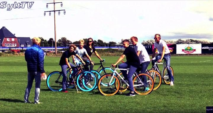 Fahrradpolo Sylt 2016