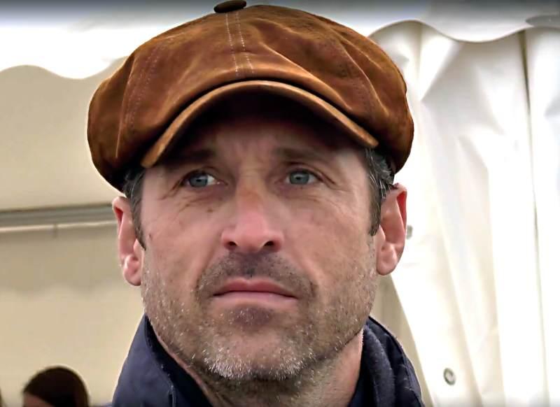 Der auch als Mc Dreamy bekannte Schauspieler Patrick Dempsey in Kampen auf Sylt