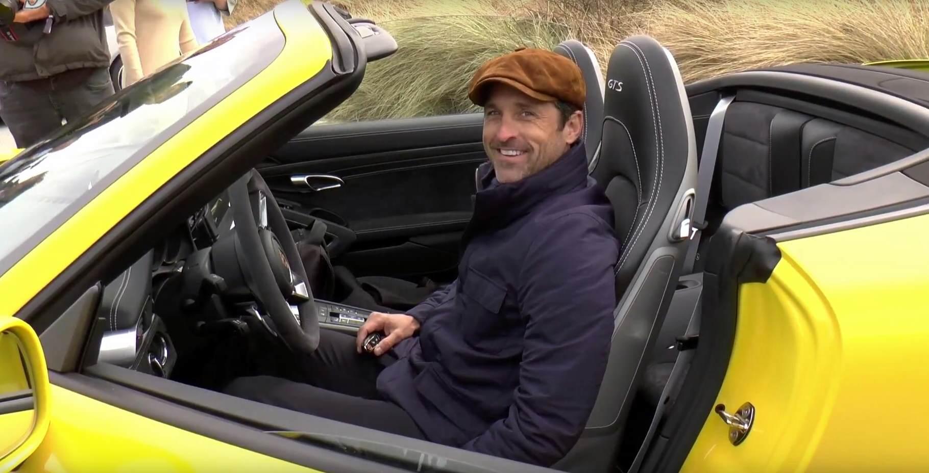 Patrick Dempsey auf Sylt als Porsche Markenbotschafter