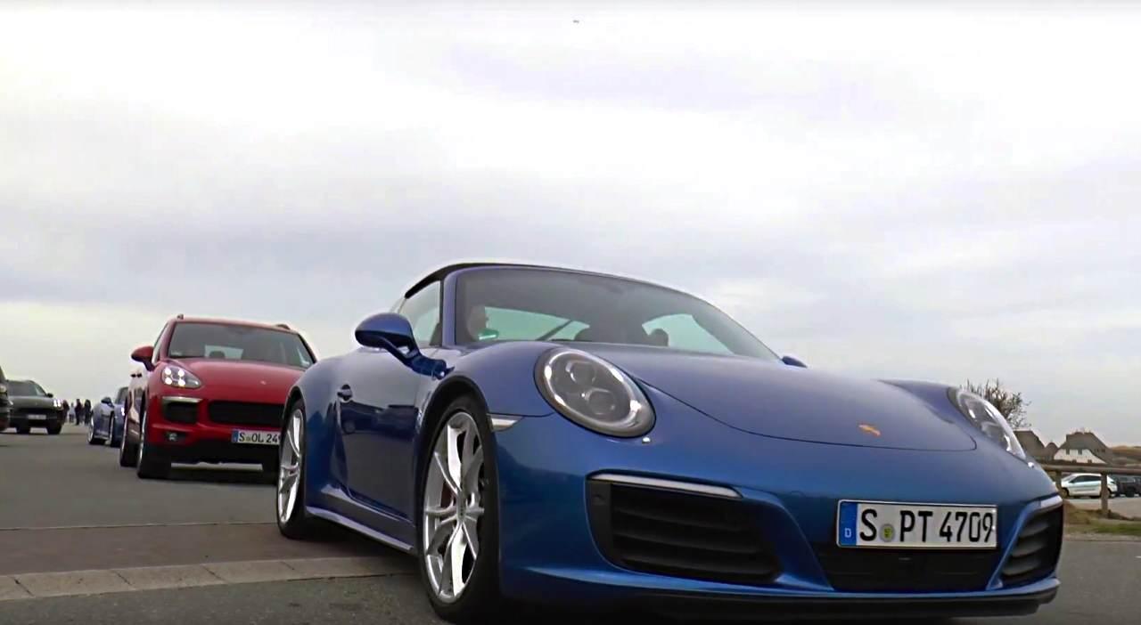 Der Sportwagenhersteller Porsche hatte groß eingeladen