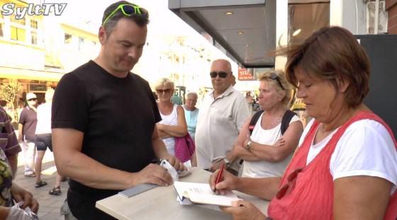 Signierstunde mit Christine Westermann auf Sylt