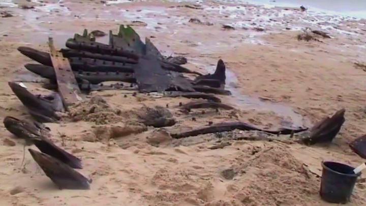 Schiffswrack vor der Westküste Sylts entdeckt