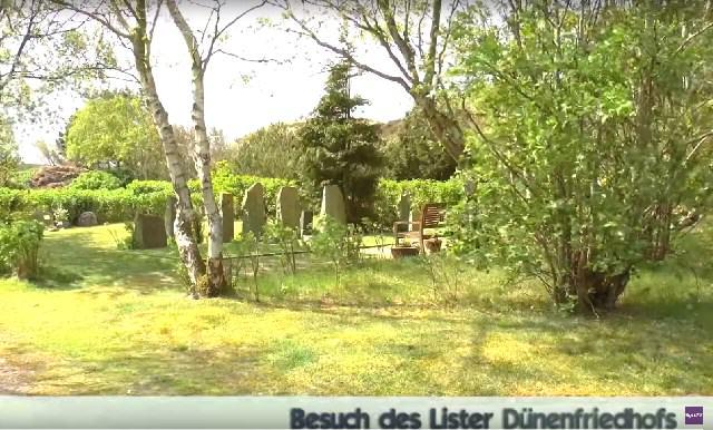 Der Dünenfriedhof in List auf Sylt