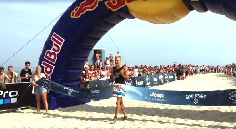 Red Bull Tri Island Sieger auf Sylt
