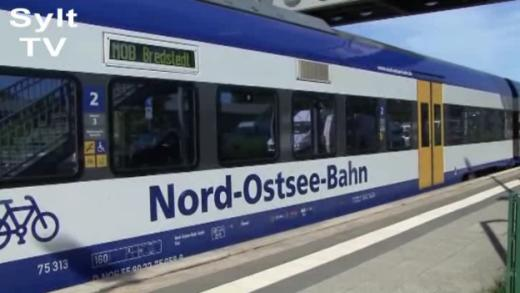 NOB vom Hamburg nach Sylt durch Baustellen behindert