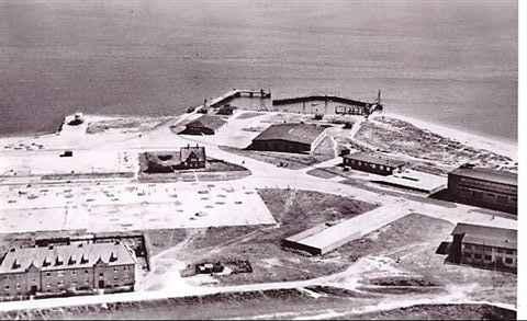 Der Hafen und Bahnhof in List