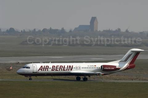 Landet Air Berlin zukünftig noch auf Sylts Flughafen?