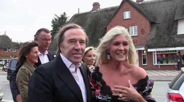 Günter Netzer und Frau Elvira
