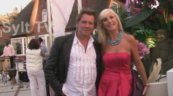 Jan Fedder mit seiner Frau Marion