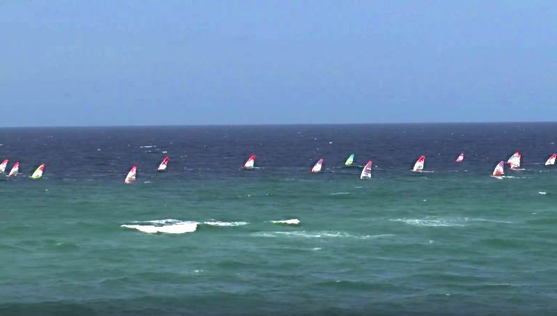 Formular Race-Windsurfer vor Sylt