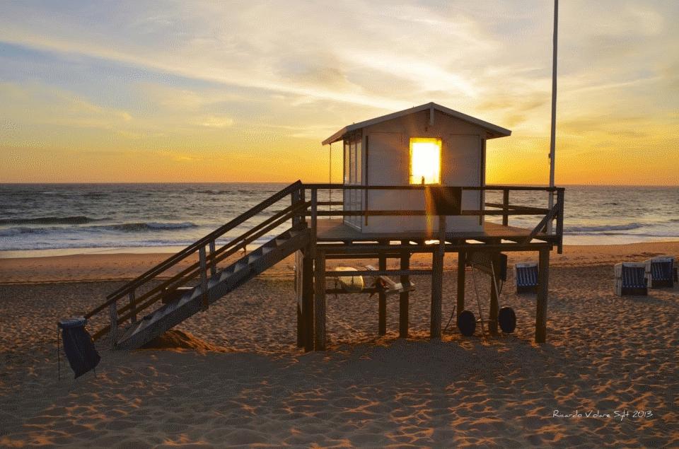 Sylt bietet grandiose Sonnenuntergänge