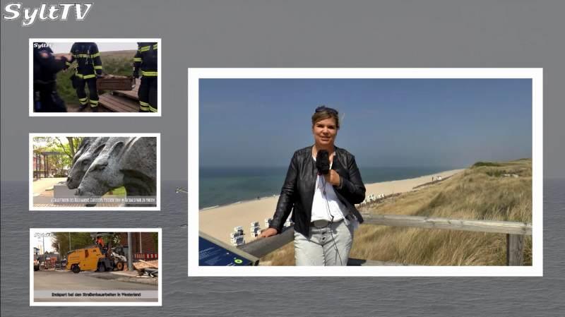 Die Sylt TV News der Woche mit Antje vom 15. Mai 2017