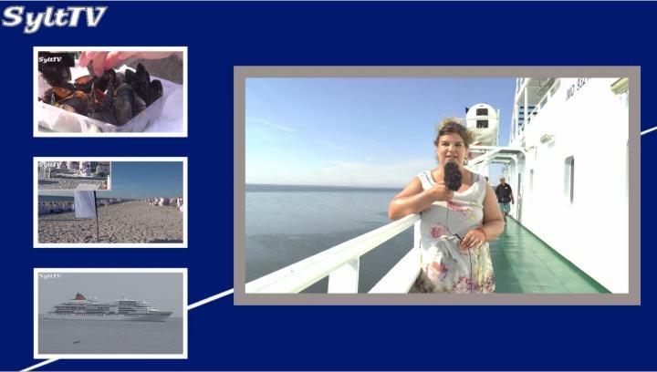 Antje präsentiert die Sylt TV News